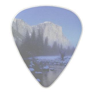 El Capitan Mountain, Yosemite National Park, Acetal Guitar Pick