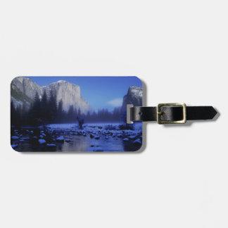 El Capitan Mountain, Yosemite National Park, Bag Tag