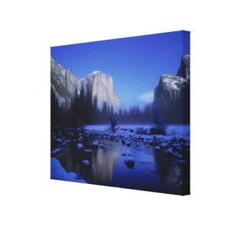 El Capitan Mountain, Yosemite National Park, Canvas Print