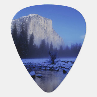 El Capitan Mountain, Yosemite National Park, Guitar Pick