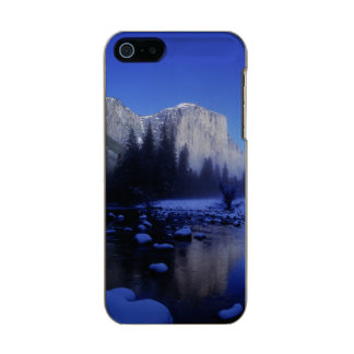 El Capitan Mountain, Yosemite National Park, Metallic iPhone SE/5/5s Case