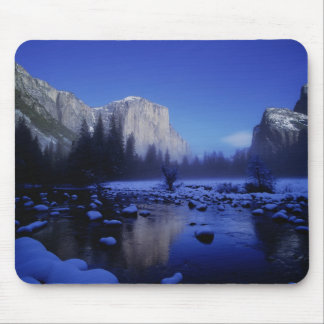 El Capitan Mountain, Yosemite National Park, Mouse Pad