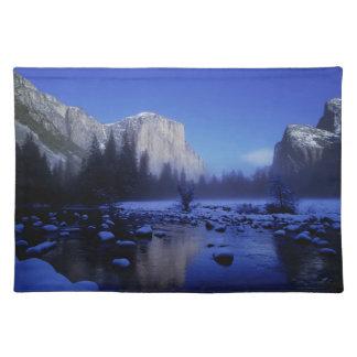 El Capitan Mountain, Yosemite National Park, Placemat