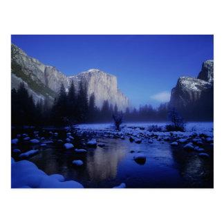 El Capitan Mountain, Yosemite National Park, Postcard