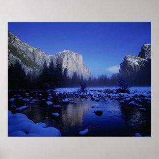 El Capitan Mountain, Yosemite National Park, Poster