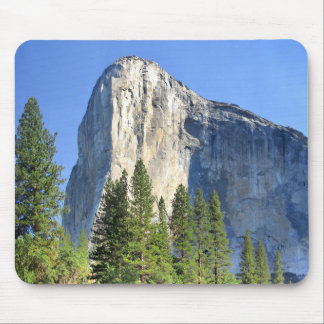 El capitan Over the Merced River - Yosemite Valley Mouse Pad