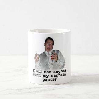 El capitán Pants Mug de Kevin Taza De Café