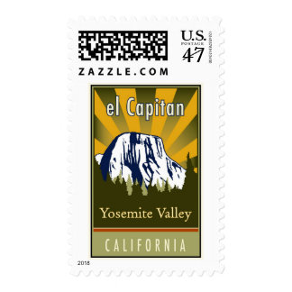 el Capitan Postage Stamp