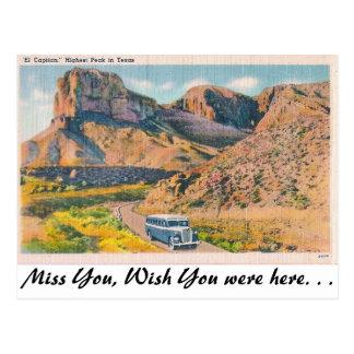 El Capitan, Postcard
