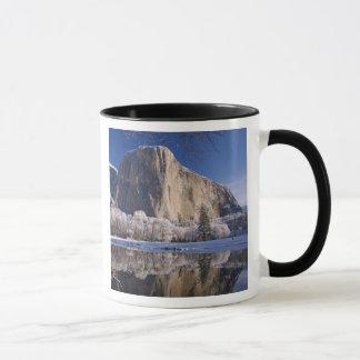 El Capitan reflects into the Merced River in 2 Mug