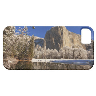 El Capitan reflects into the Merced River in iPhone 5 Covers
