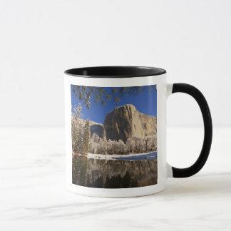 El Capitan reflects into the Merced River in Mug