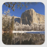 El Capitan reflects into the Merced River in Stickers