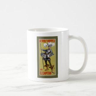 El Capitanstarring DeWolf Hopper 1896 Coffee Mug