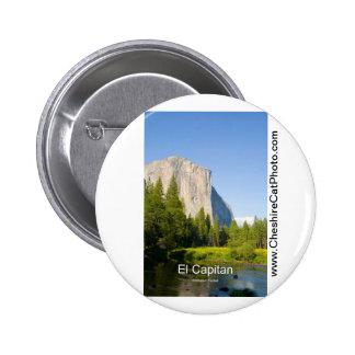 El Capitan (summer) Yosemite California Products Button