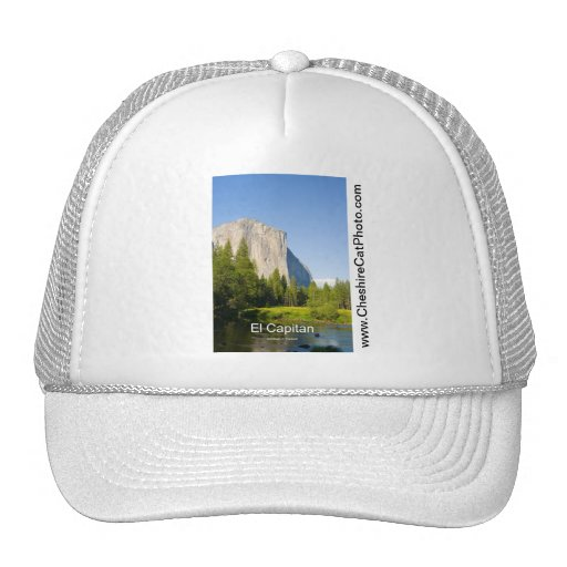 El Capitan (summer) Yosemite California Products Hats