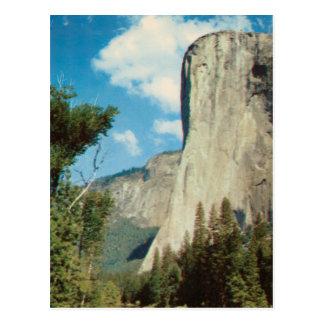 El Capitan Vintage Postcard