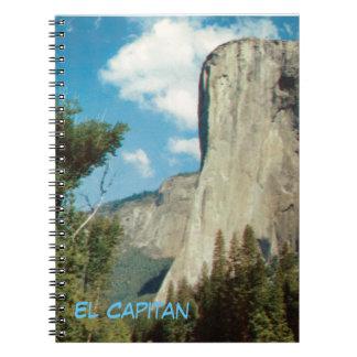 El Capitan Vintage Yosemite Notebook