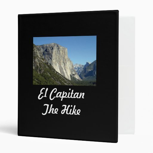 El Capitan Vinyl Binders