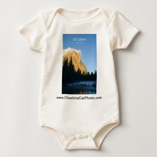 El Capitan (winter) Yosemite California Products Baby Bodysuit