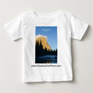 El Capitan (winter) Yosemite California Products Baby T-Shirt