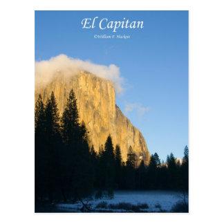 El Capitan (winter) Yosemite California Products Postcard