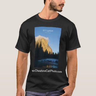El Capitan (winter) Yosemite California Products T-Shirt