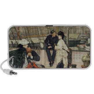 El capitán y el compañero, 1873 altavoces de viajar