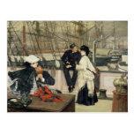 El capitán y el compañero, 1873 postales