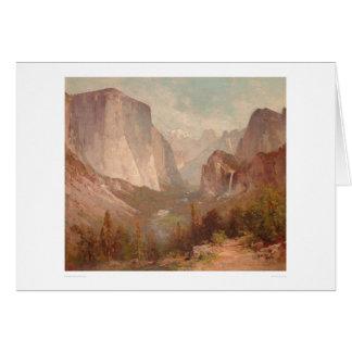 El Capitan, Yosemite, California (0229A) Card