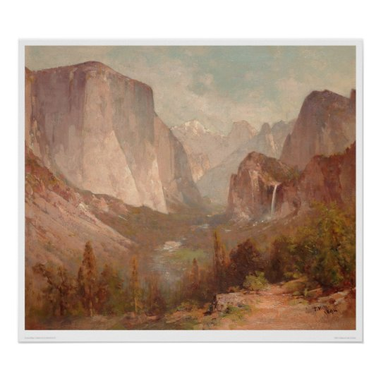 El Capitan, Yosemite, California (0229A) Poster