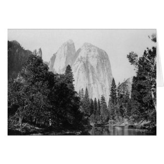 El Capitan ~ Yosemite National Park 1866 Greeting Card