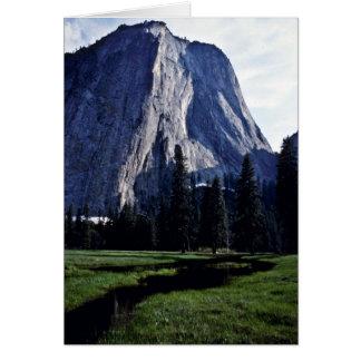 El Capitan, Yosemite Valley Card