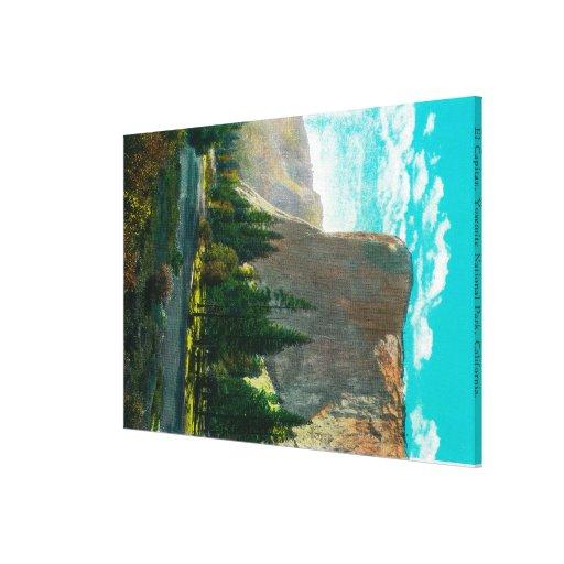 El Capitan, Yosemite ValleyYosemite, CA Gallery Wrapped Canvas