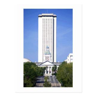 El capitolio del estado de la Florida, en Tallahas Tarjeta Postal