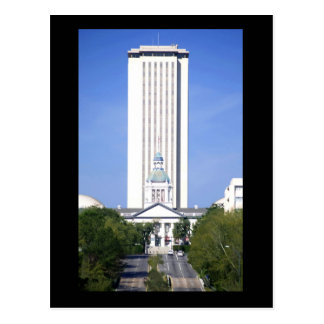 El capitolio del estado de la Florida, en Tarjeta Postal
