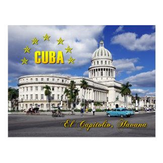 El Capitolio (National Capitol), Havana, Cuba Postcard
