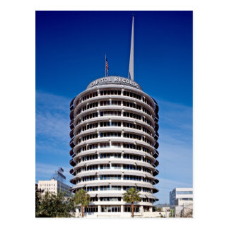 El capitolio registra el LA de la torre Tarjetas Postales