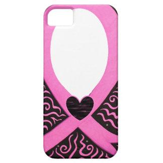 El capítulo de la cinta del rosa del cáncer de iPhone 5 carcasa