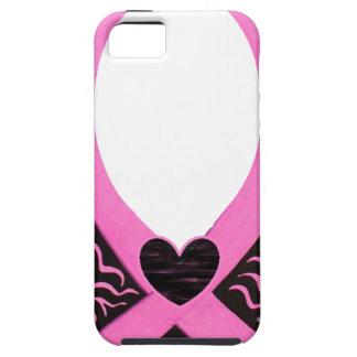 El capítulo de la cinta del rosa del cáncer de iPhone 5 Case-Mate cobertura