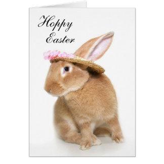 El capo del conejito de pascua tarjeta de felicitación