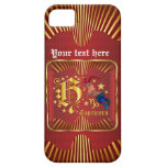 El Capricornio H ve por favor comentarios del arti iPhone 5 Case-Mate Cárcasas
