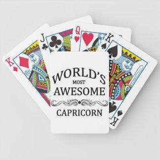 El Capricornio más impresionante del mundo Cartas De Juego