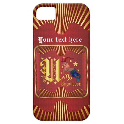 El Capricornio U ve por favor comentarios del arti iPhone 5 Case-Mate Cárcasa