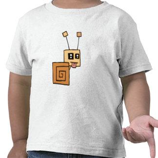 El caracol fresco embroma T Camisetas