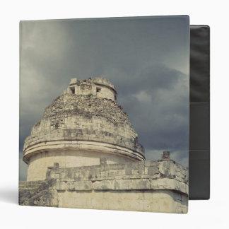 El Caracol  Mayan observatory 3 Ring Binder