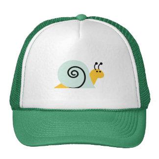 El caracol Slugs el animal lindo del dibujo animad Gorras De Camionero