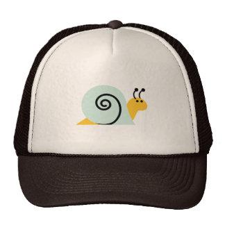 El caracol Slugs el animal lindo del dibujo animad Gorro De Camionero