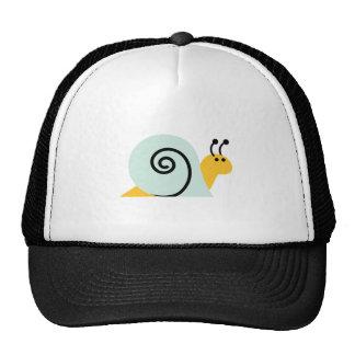 El caracol Slugs el animal lindo del dibujo animad Gorras