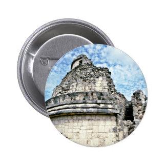 El Caracol, The Observatory, Chichen Itza Button